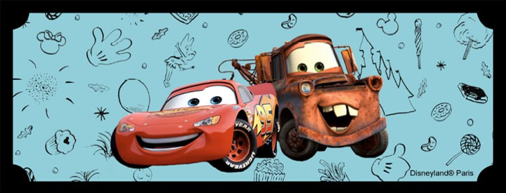 Goûter d'anniversaire Cars avec Flash Mc Queen by Baby Prestige