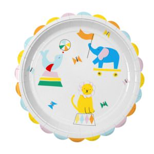 "Assiettes ""Silly Circus"""