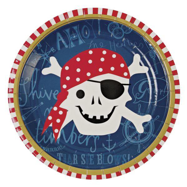 Assiettes Pirates