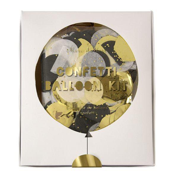 Kit de 8 ballons or & argent