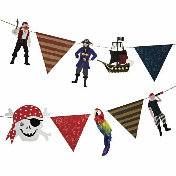 Guirlande Pirates