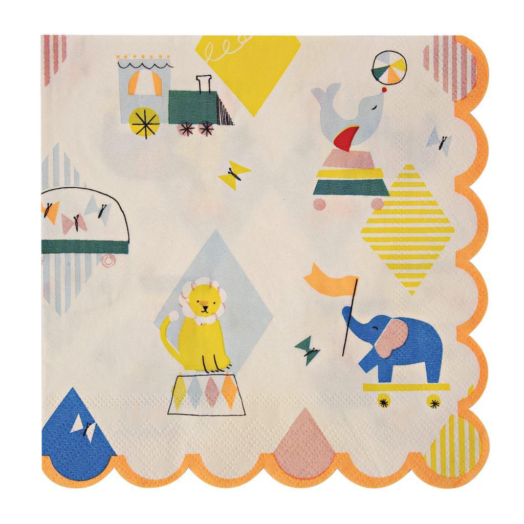 baby-prestige-serviettes-anniversaire-silly-circus
