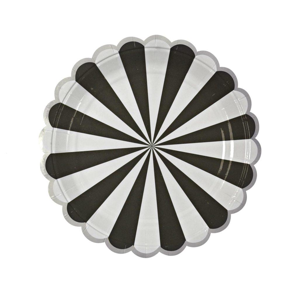 assiettes-noir-blanc-anniversaire
