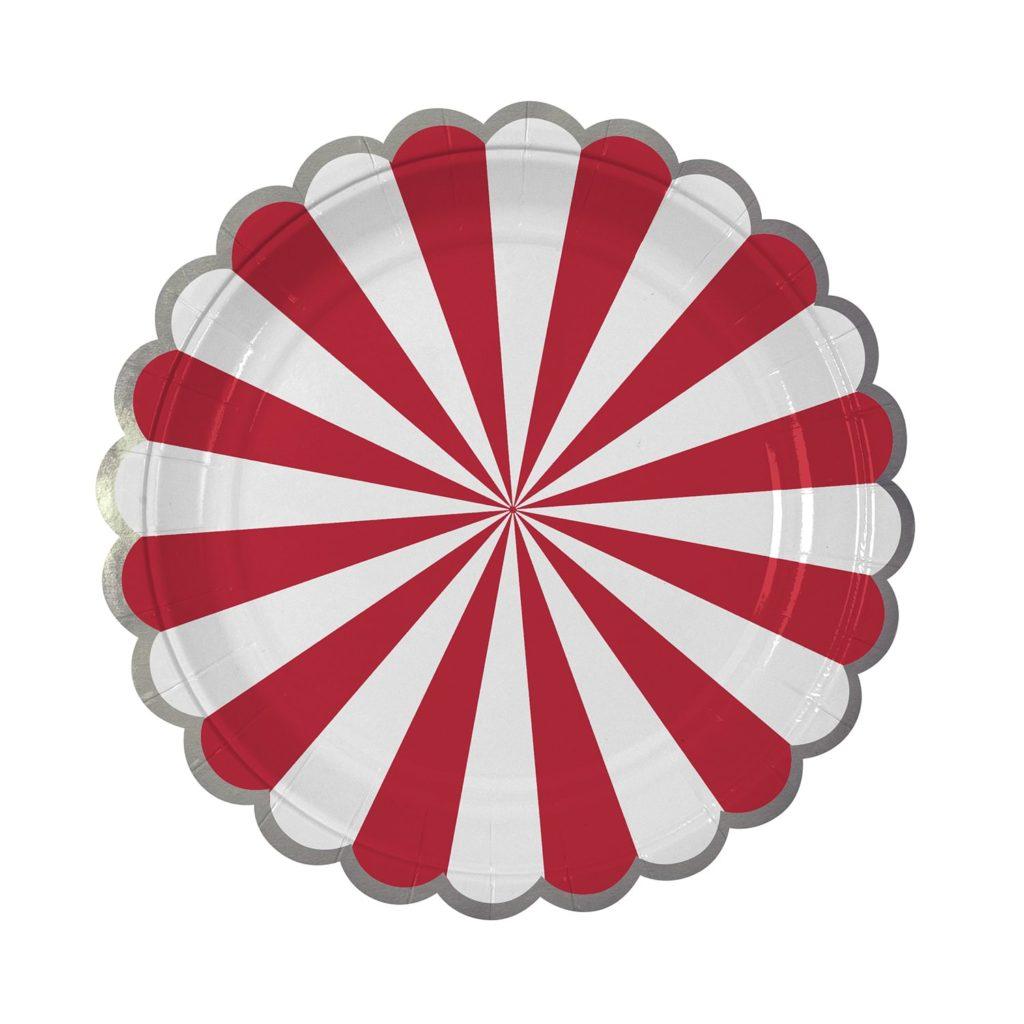 assiettes-rouge-blanc-anniversaire