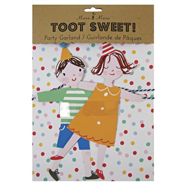 Toot Sweet party garland