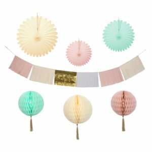 Pastel Decoration kit