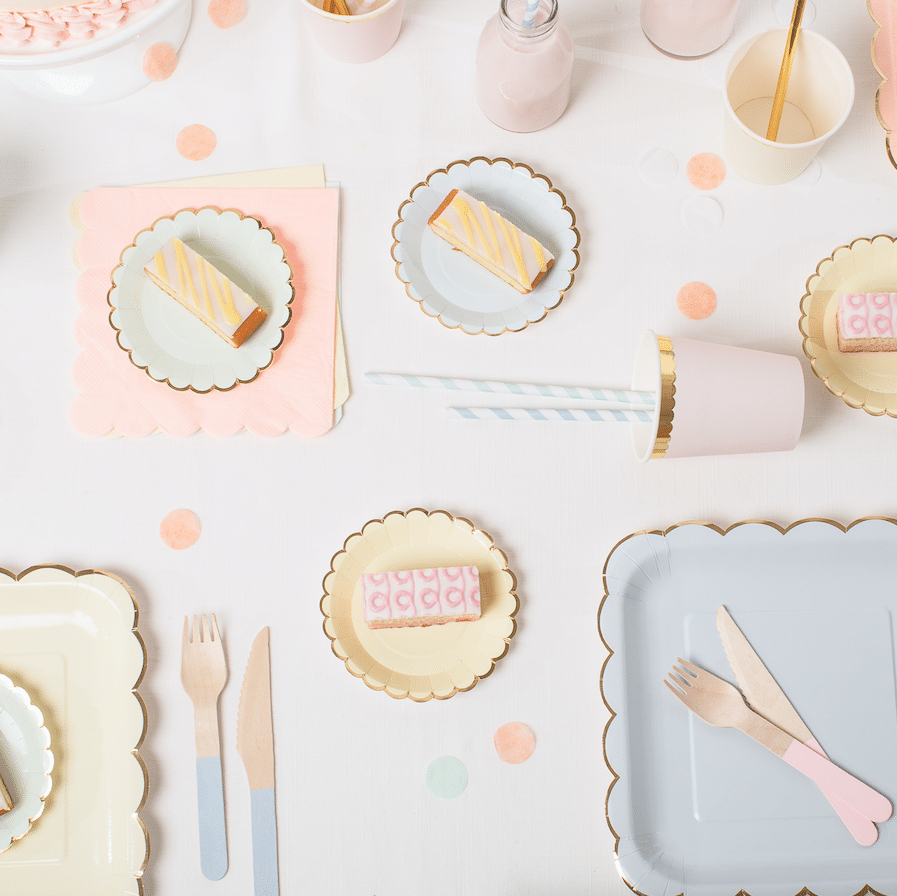 collection pastel anniversaire bapteme baby shower meri meri