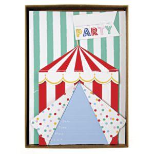 Invitations Anniversaire Cirque