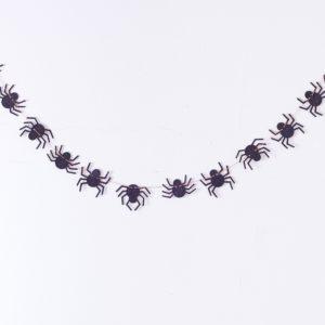 Guirlande araignées Halloween