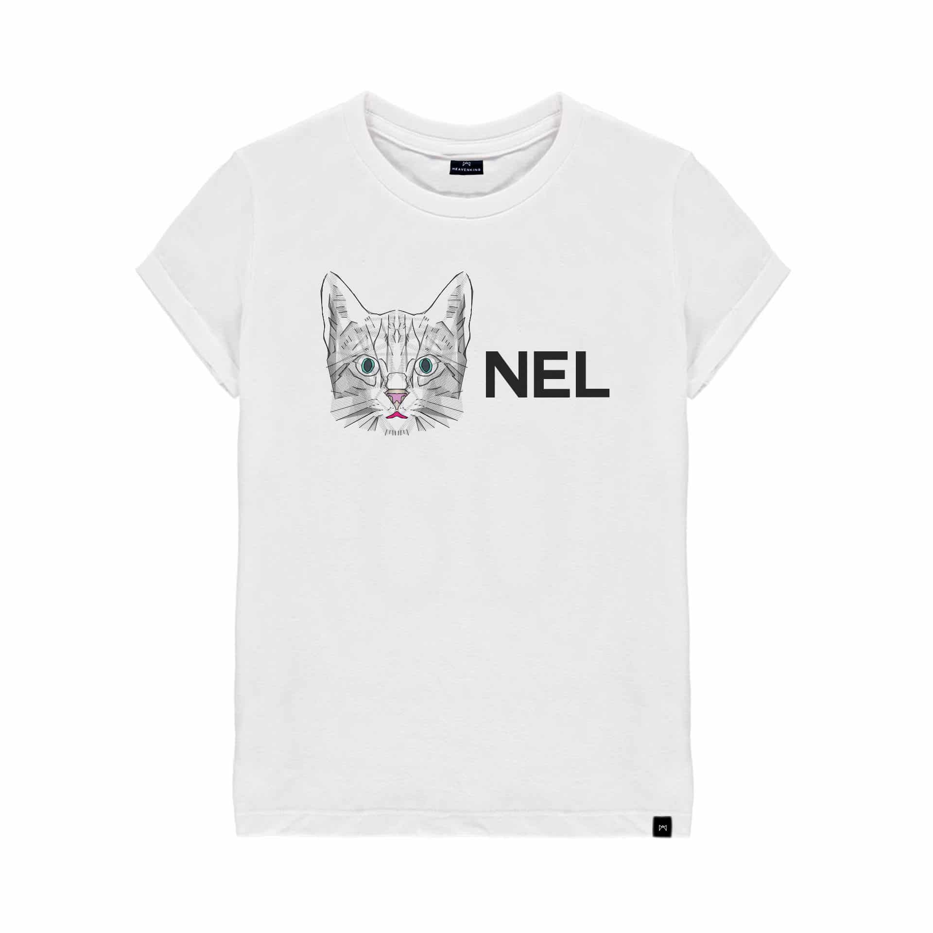 "T Shirt Enfant ""Chat nel"""