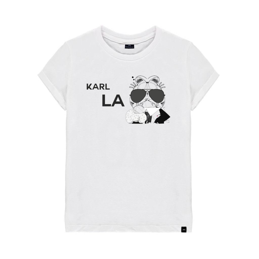 tshirt-blanc-chat-garfield-Karl-Lagarfield-heavenking-baby-prestige