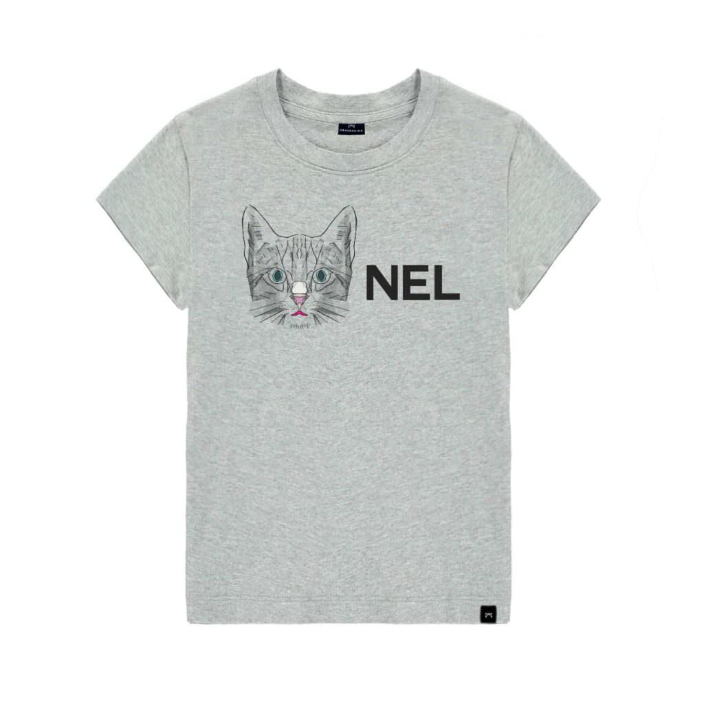tshirt-gris-chat-Chanel-heavenking-baby-prestige