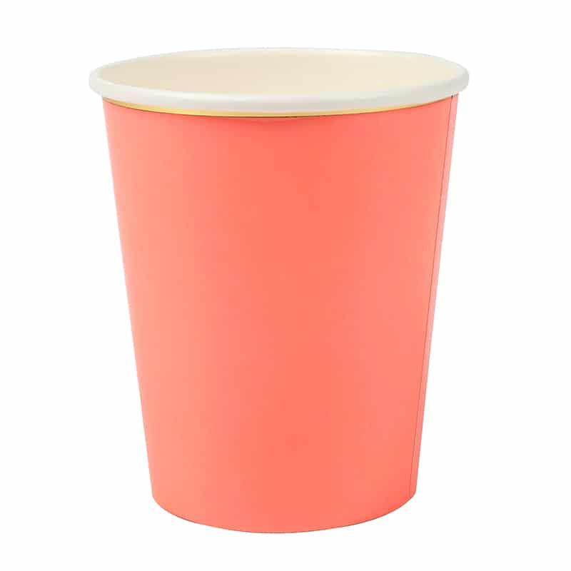 gobelet-neon-rose-fluo-meri-meri-baby-prestige