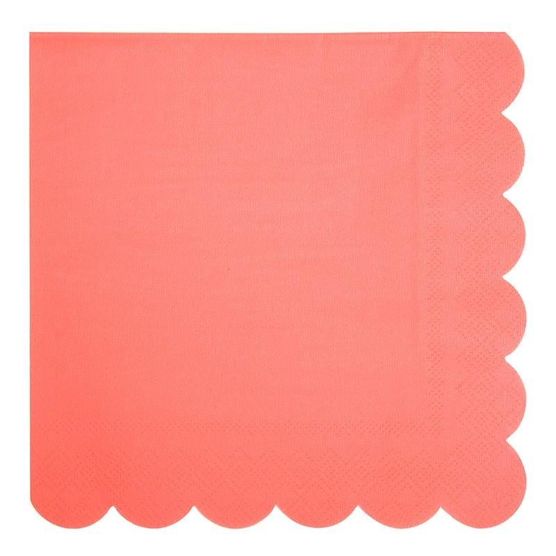 serviette-neon-rose-fluo-meri-meri-baby-prestige