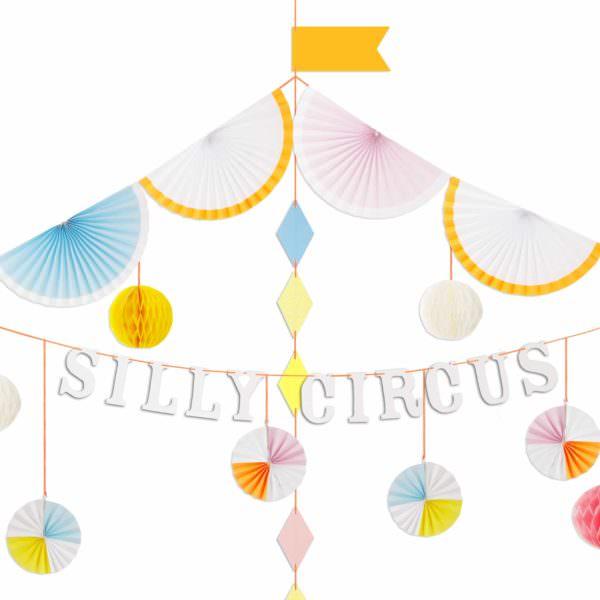 "Guirlande ""Silly Circus"""