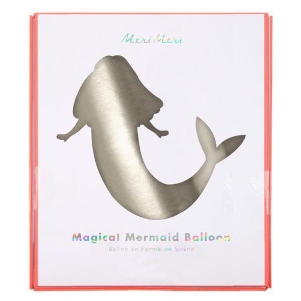 Mermaid Mylar Balloon
