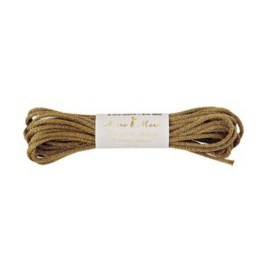 Corde de fanion dorée