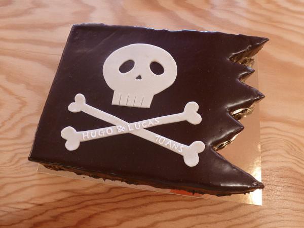 Gâteau à l'abordage