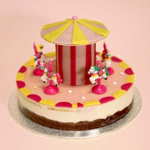 Gâteau Carrousel