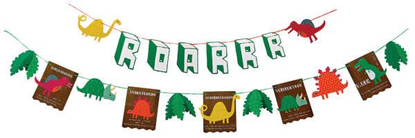 Dinosaur Party Garland