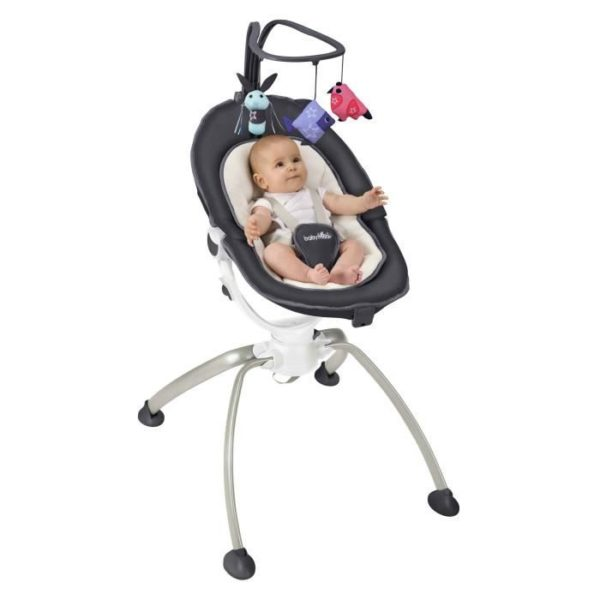 Swoon Up Baby Bouncer Height-adjustable BabyMoov