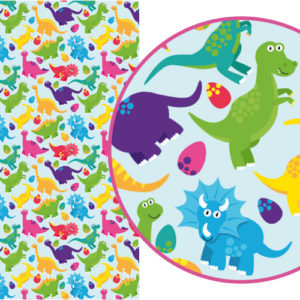 Dinosaurs self-adhesive Magic Paper