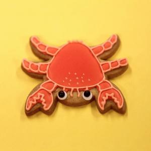 10 sablés Crabe