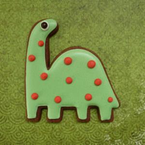 10 sablés Diplodocus