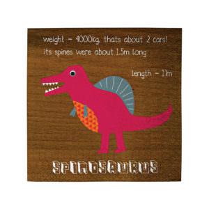 Petites serviettes Dinosaure